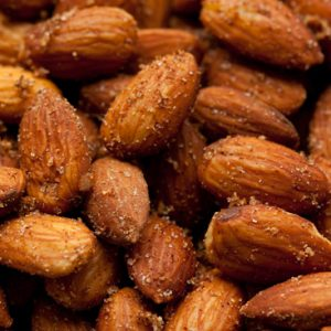 Almond smocked and spicy
