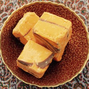 Cocolate Fudge with Orange