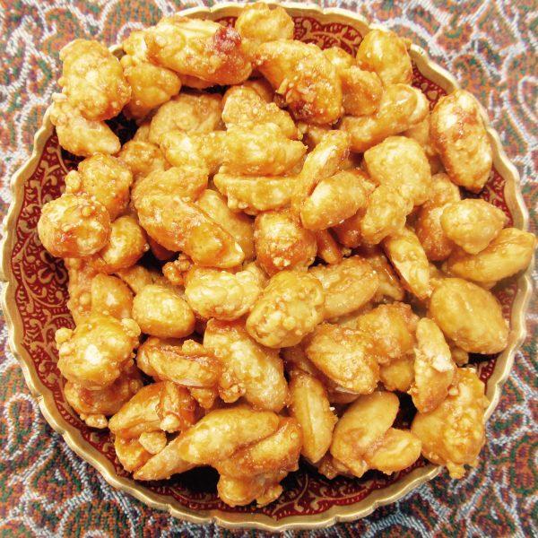 Honey Peanuts