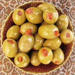 Olives Stuffed Sundried Tomato